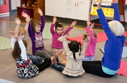 All kids are natural yogis'